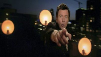 "Rick Astley  ""Lights Out"""